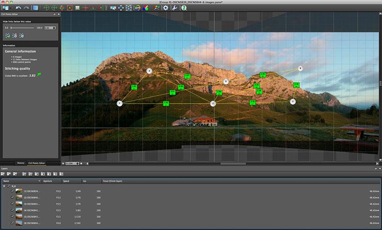 Программа Autopano Giga для создания панорамных изображений Блог Комп